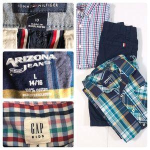 Back to school bundle three items for boys